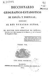 Diccionario geográfico-estadístico de España y Portugal: (494 p., [2] map. pleg.)