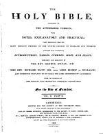 pt. 1. Psalms to Maccabees