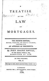 A Treatise Upon the Law of Mortgages: Volume 2