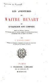 Les aventures de maître Renart et d'Ysengrin, son compère