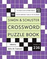 Simon and Schuster Crossword Puzzle Book  236 PDF