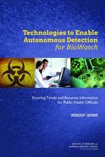 Technologies to Enable Autonomous Detection for BioWatch PDF