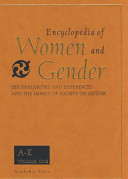 Encyclopedia of Women and Gender PDF