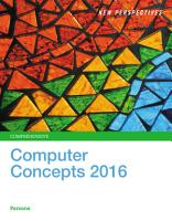 New Perspectives on Computer Concepts 2016  Comprehensive PDF