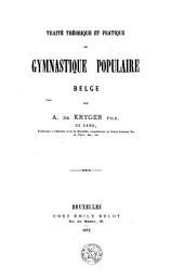 Traité théorique et pratique de gymnastique populaire belge