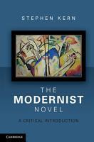 The Modernist Novel PDF
