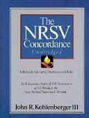 The NRSV Concordance Unabridged