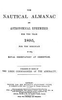 The Nautical Almanac and Astronomical Ephemeris PDF