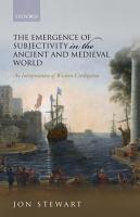 The Emergence of Subjectivity in the Ancient and Medieval World PDF