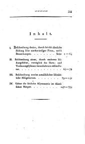 Anatomisch-Physiologische Beobachtungen und Untersuchungen