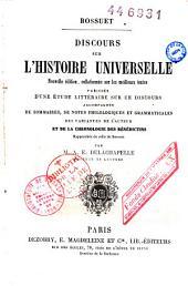 Discours sur l'histoire universelle: avec étude littéraire et notes