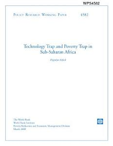 Technology Trap and Poverty Trap in Sub saharan Africa PDF