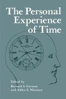 The Personal Experience of Time PDF