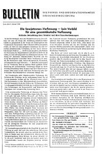 Bulletin des Presse  und Informationsamtes der Bundesregierung PDF