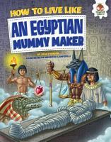 How to Live Like an Egyptian Mummy Maker PDF