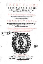 Ad tit. de dinersis regulis juris antiqui ex libro Pandectarum imperatoris Justiniani L. comm. Ed