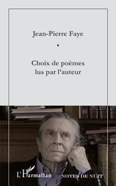 Choix de poèmes lus par l'auteur