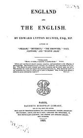 England and the English