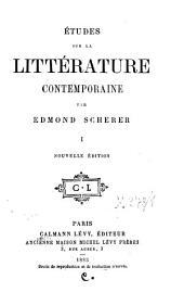 Etudes sur la littérature contemporaine: T. 1-3