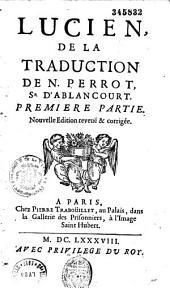 Lucien, de la traduction de N. Perrot, Sr. d'Ablancourt