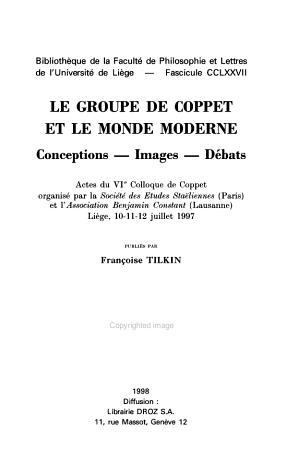 Biblioth  que de la Facult   de philosophie et lettres de l Universit   de Li  ge PDF