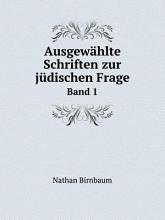 Ausgew hlte Schriften zur j dischen Frage PDF