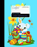 Primary Composition Book Bunny Rabbit