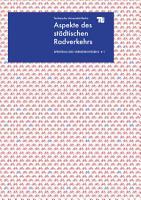 Aspekte des st  dtischen Radverkehrs PDF