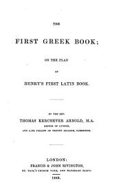 The first Greek book. [With] Key: Volume 2