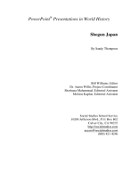 Shogun Japan PDF