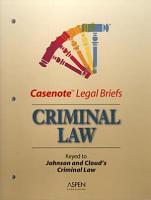 Criminal Law PDF