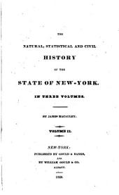 The natural, statistical, and civil history of the state of New-York: Volume 2