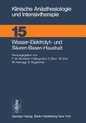 Wasser-Elektrolyt- und Säuren-Basen-Haushalt: XX. Kasseler Symposium, 18./19.2.1977