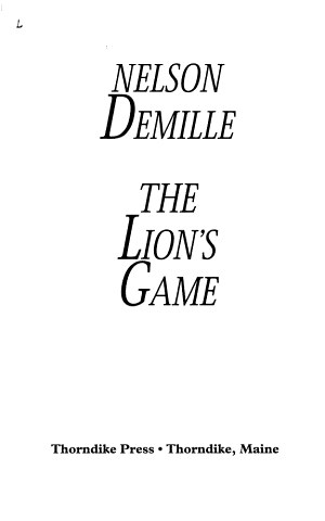 The Lions Game