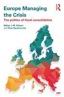 Europe Managing the Crisis PDF