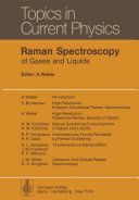 Raman Spectroscopy of Gases and Liquids