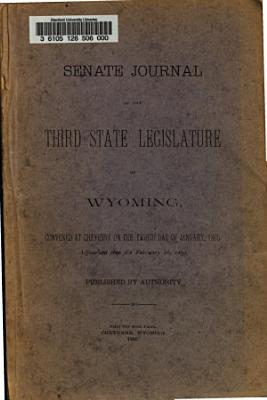 Senate Journal of the     State Legislature of Wyoming  Convened at Cheyenne on     PDF