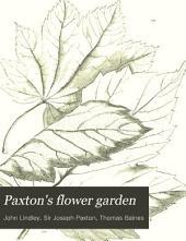 Paxton's Flower Garden: Volume 3
