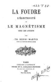 La foudre, l'électricité et le magnétisme chez les anciens