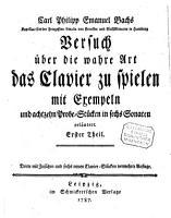 Carl Philipp Emanuel Bachs Versuch   ber die wahre Art das Clavier zu spielen PDF