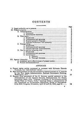 Patent Practices of the General Services Administration PDF