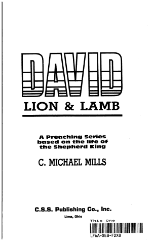 David Lion and Lamb
