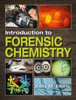 Introduction to Forensic Chemistry PDF
