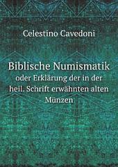 Biblische Numismatik
