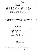 Download Who s who in America Book
