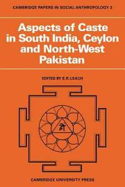 Aspects Of Caste In South India  Ceylon And North West Pakistan