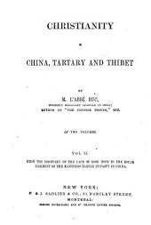 Christianity in China, Tartary and Thibet: Volume 2