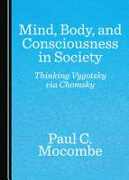 Mind  Body  and Consciousness in Society PDF
