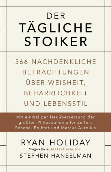 Der t  gliche Stoiker PDF