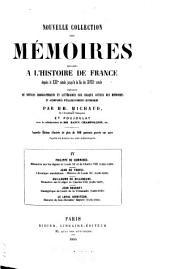 Mémoires sur les règnes de Louis XI et de Charles VIII (1464-1498)